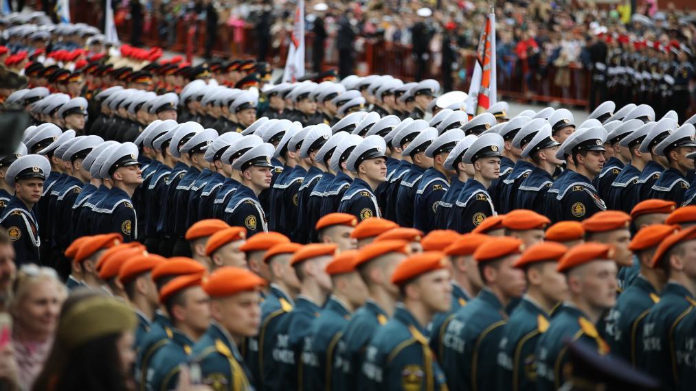 俄罗斯举行庆祝卫国战争胜利76周年阅兵式