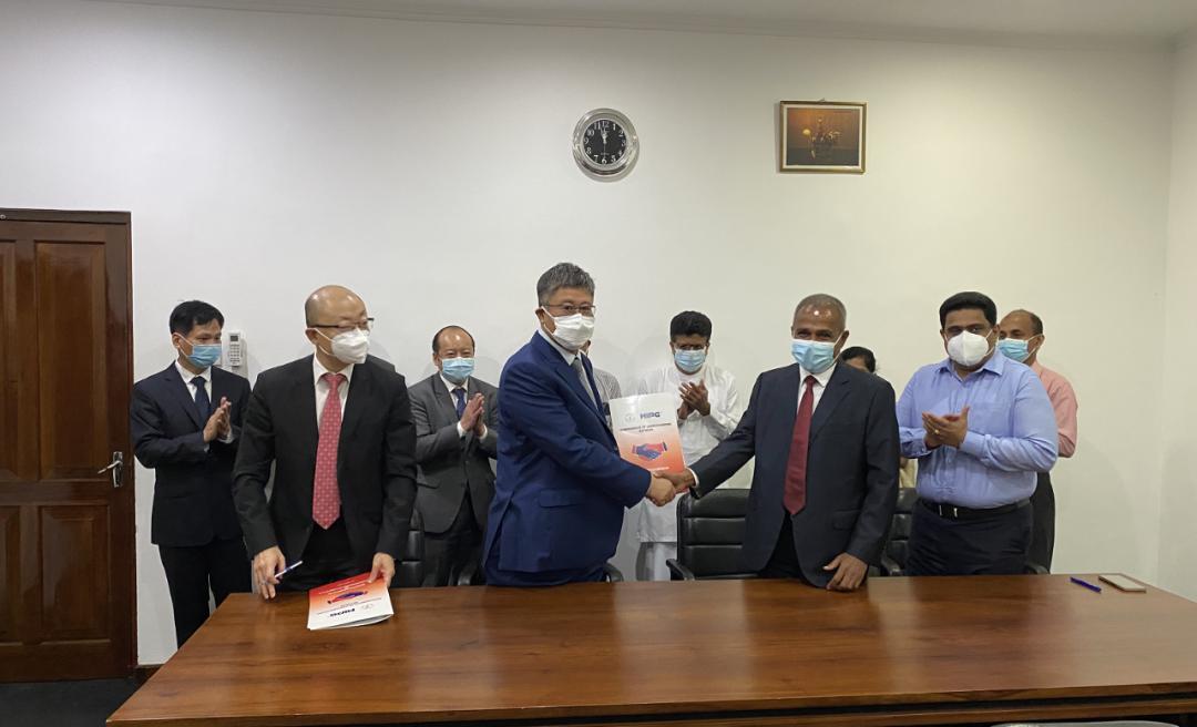 HIPG携手斯里兰卡能源部、锡兰石油公司共同建设斯里兰卡能源中心