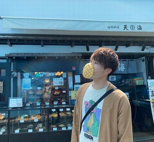 """日企研发""""菠萝包口罩"""":可直接食用还有面包香气"""