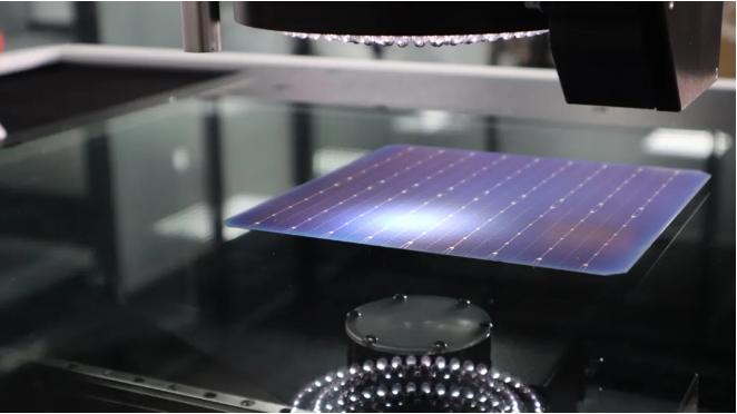 台超:降本五成以上!高精度影像测量仪确保光伏电池片质量稳定