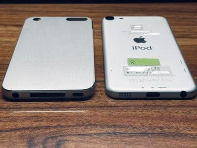 苹果iPod Touch 5原型机流出:倒角设计和30针Dock接口