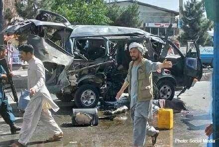 阿富汗首都喀布尔发生两起爆炸 共7人死亡