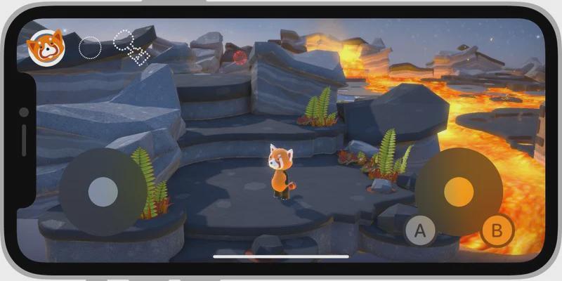 苹果在iOS 15和iPad OS15中向开发者提供新的屏幕游戏控制器