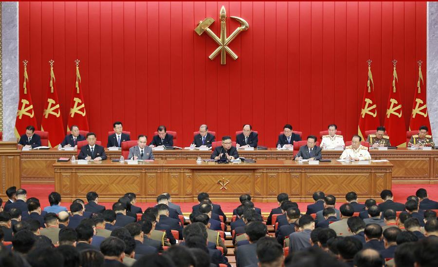 朝鲜劳动党召开八届三中全会 探讨国计民生等问题