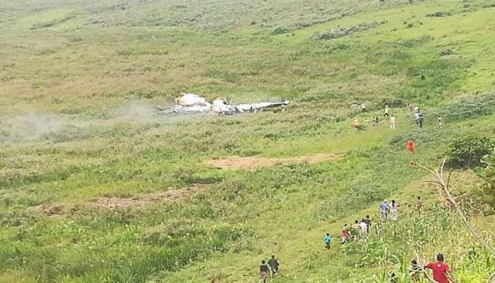 刚果(金)一架小型飞机坠毁 造成3人死亡