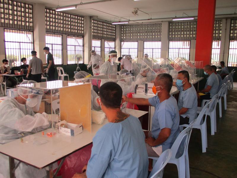 泰国监狱新冠疫情好转 感染囚犯80%已治愈