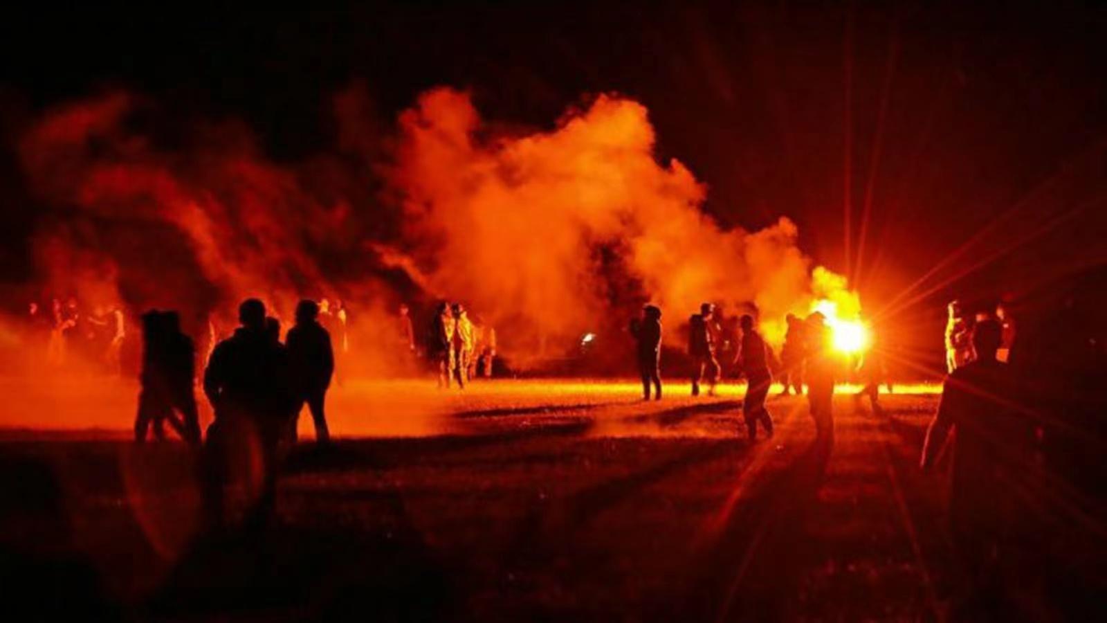 法国发生一起骚乱事件 致多人受伤