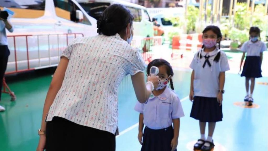 开学4天泰国多所学校出现新冠疫情