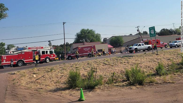 美国亚利桑那州一自行车赛事发生冲撞事件 致7人受伤