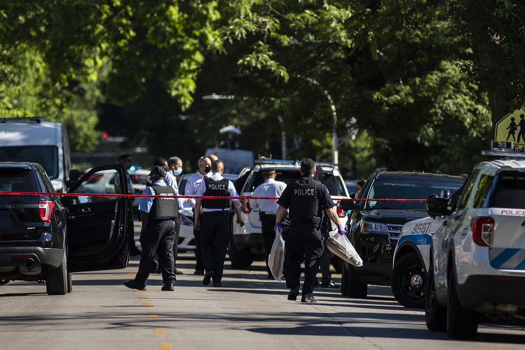 美媒:暴力犯罪已成美国最大政治危机