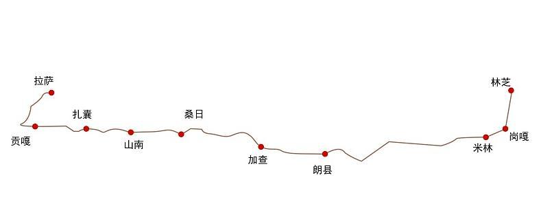 全程3小时29分!拉萨至林芝铁路6月25日开通运营