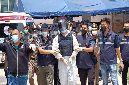 泰国便利店和方舱医院连环枪击案凶犯获4项指控