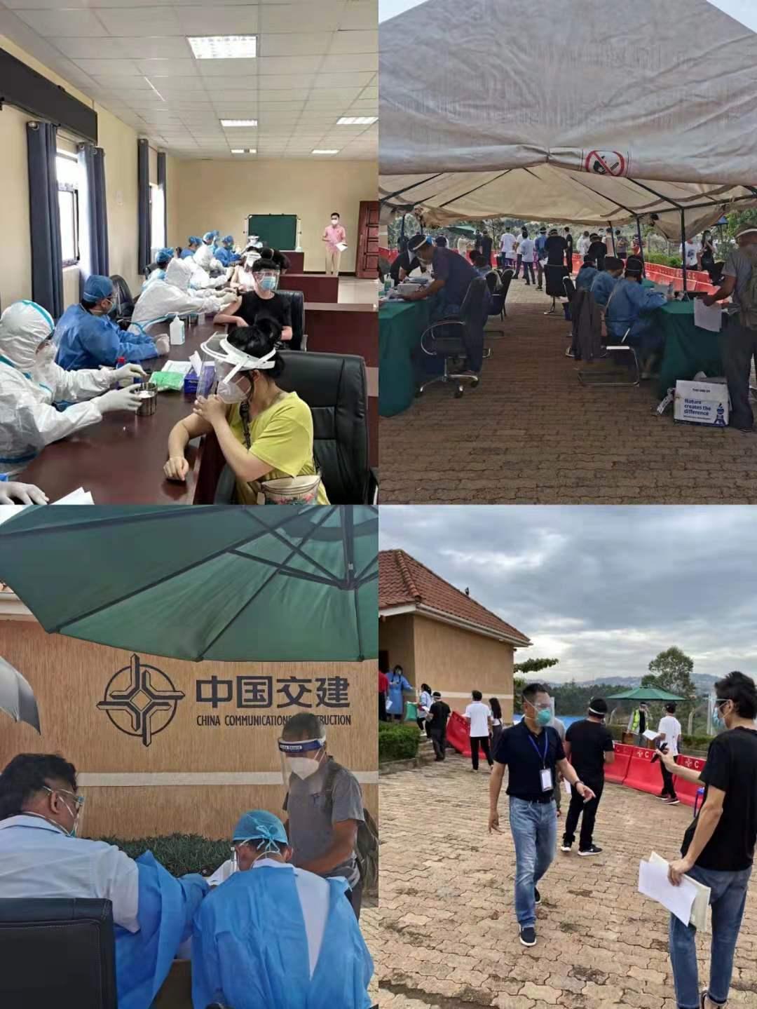 超3000名中国公民在乌干达完成两剂次中国新冠疫苗接种