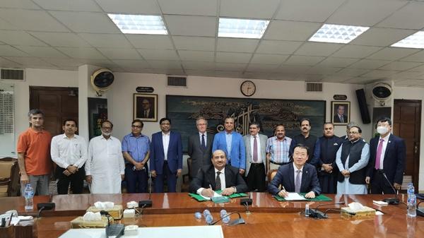 哈电集团正式签订巴基斯坦塔贝拉五期水电扩建项目机电总承包合同