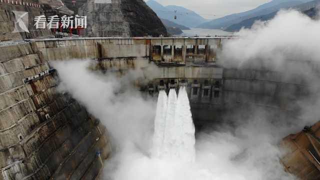 视频 金沙江白鹤滩水电站首批机组正式投产发电