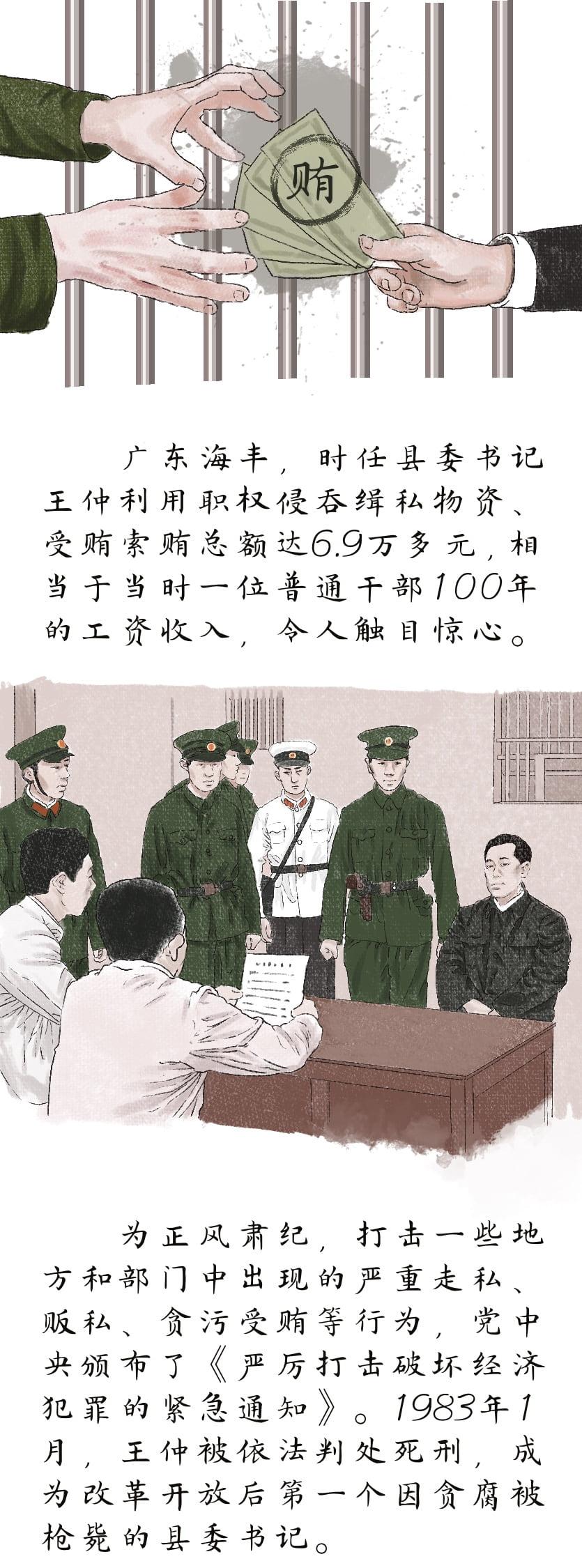党史故事绘   中央纪律检查委员会恢复重建