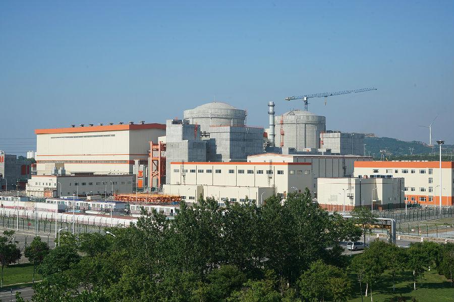 辽宁红沿河核电站5号机组首次并网发电