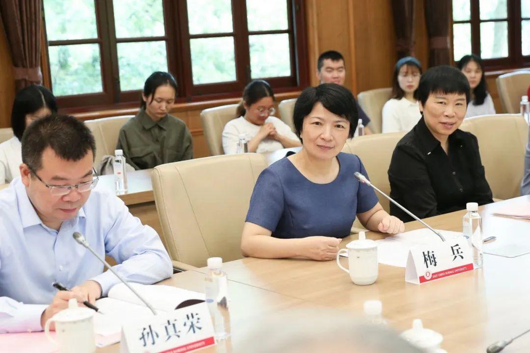 共筑教育之梦!华东师大获上海明泉集团、爱建特种基金会捐赠