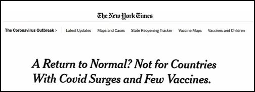 """美媒:欧美逐渐开放,""""疫苗种族隔离""""可能会出现"""