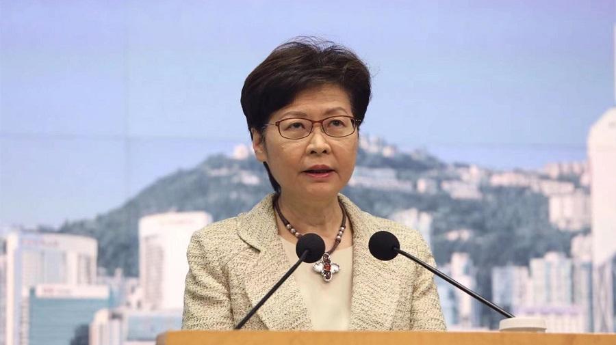 """香港国安法实施一周年,林郑月娥:犹如香港的""""定海神针"""""""