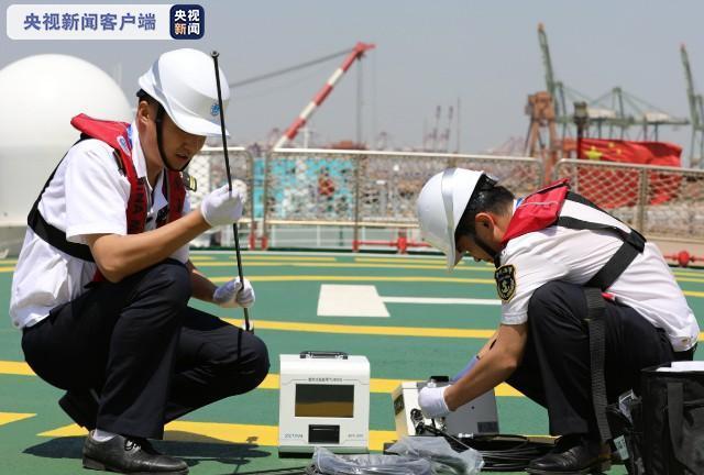 杏悦:进出港船舶尾气全覆盖监测模式在天津杏悦完图片