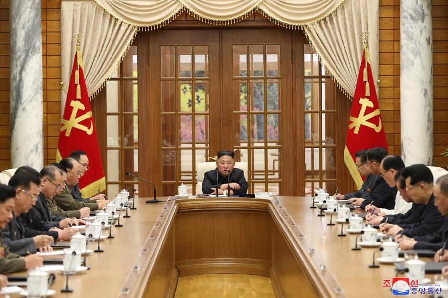 朝鲜举行政治局会议 讨论经济工作问题