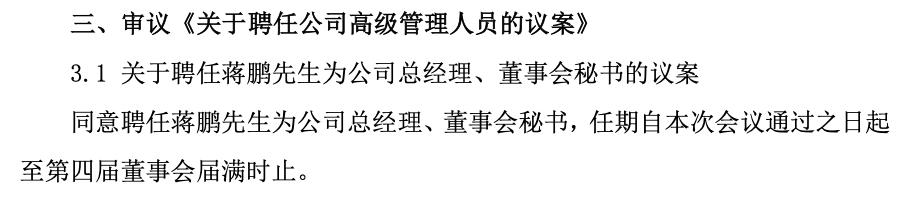 """实控人失联董监高大批离职 """"85后""""身兼杭州高新董事长、总经理、董秘"""