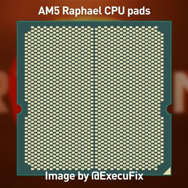 "AMD Zen4 AM5处理器新照:一条独特的""八爪鱼"""