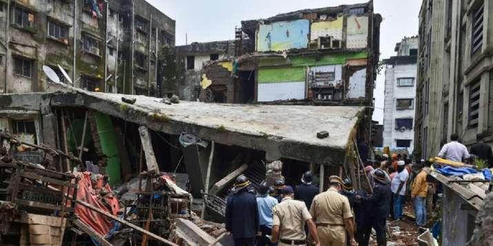 印度孟买一建筑物倒塌 致1人死亡5人受伤