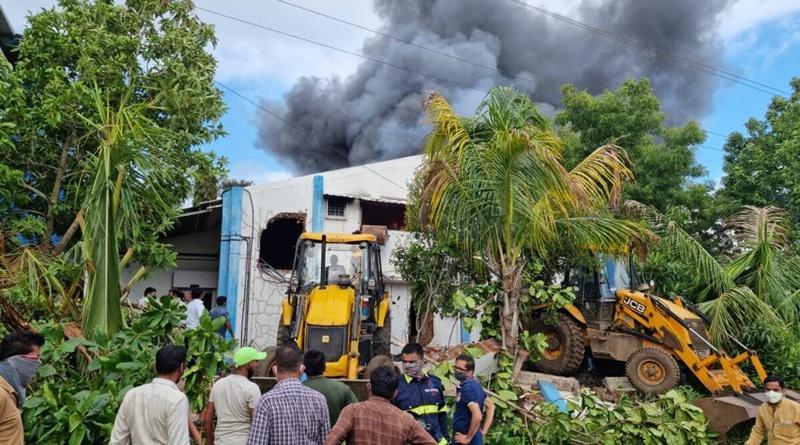 印度西部城市浦那一工厂发生火灾 至少12人死亡