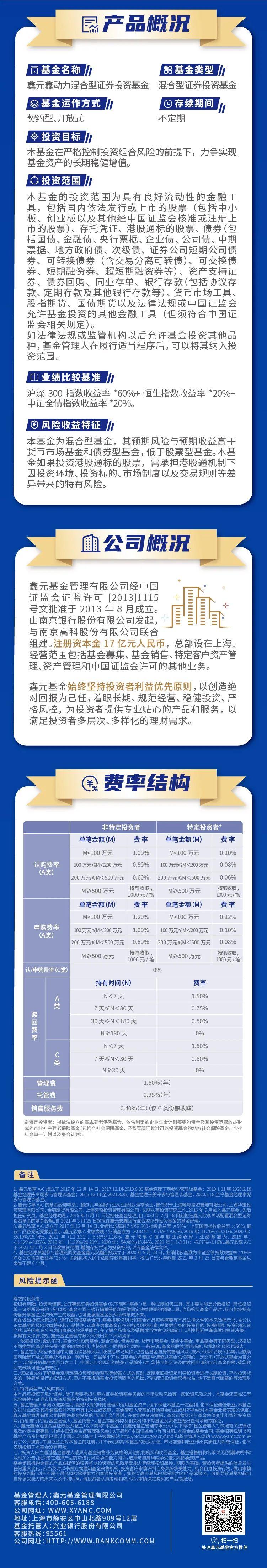 新基启航 | 鑫元鑫动力混合型基金将于6月28日正式发售!