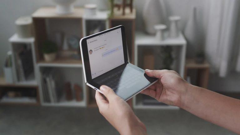 微软Surface Duo双屏手机升级安卓11时间曝光:今年8月份