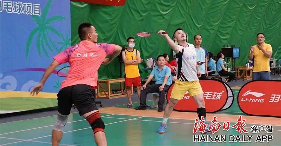 【杏悦】全运会群杏悦众比赛羽毛球项目海南选拔图片