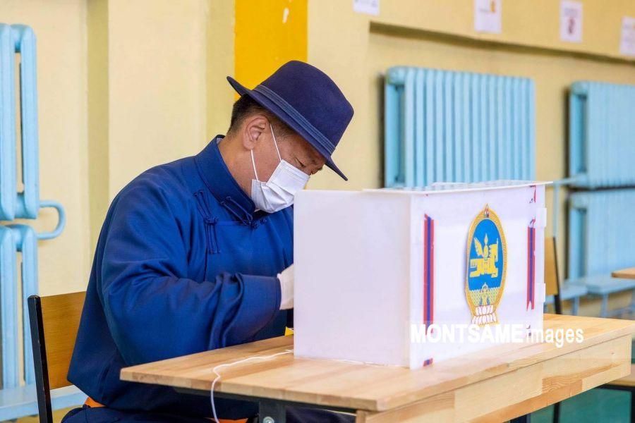 蒙古国总统例行选举今日投票 截至11时投票率为13.4%