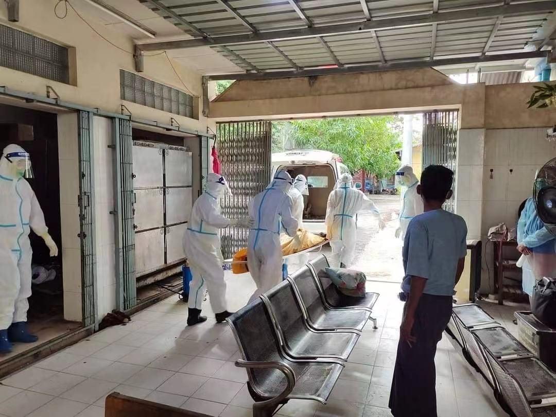 缅甸新冠疫情已蔓延九成地区 单日新增确诊和死亡病例创新高