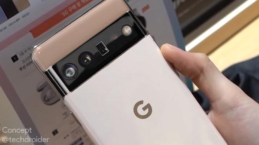 谷歌Pixel 6真机曝光,有望10月发布