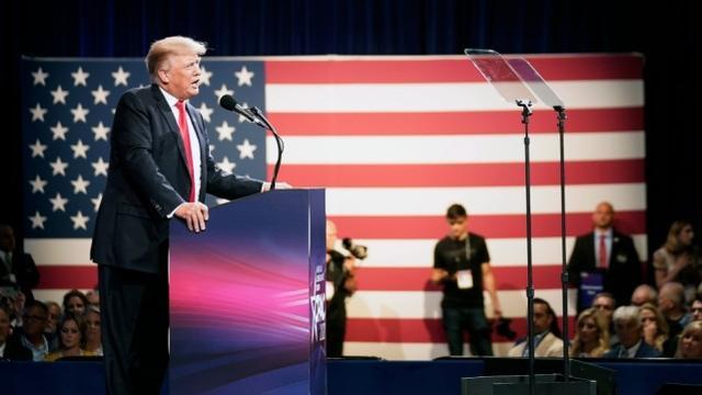 特朗普又拿了个民调第一 而前副总统彭斯支持率为零