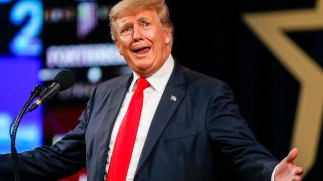 特朗普又拿了个民调第一 而前副总统彭斯支持率为