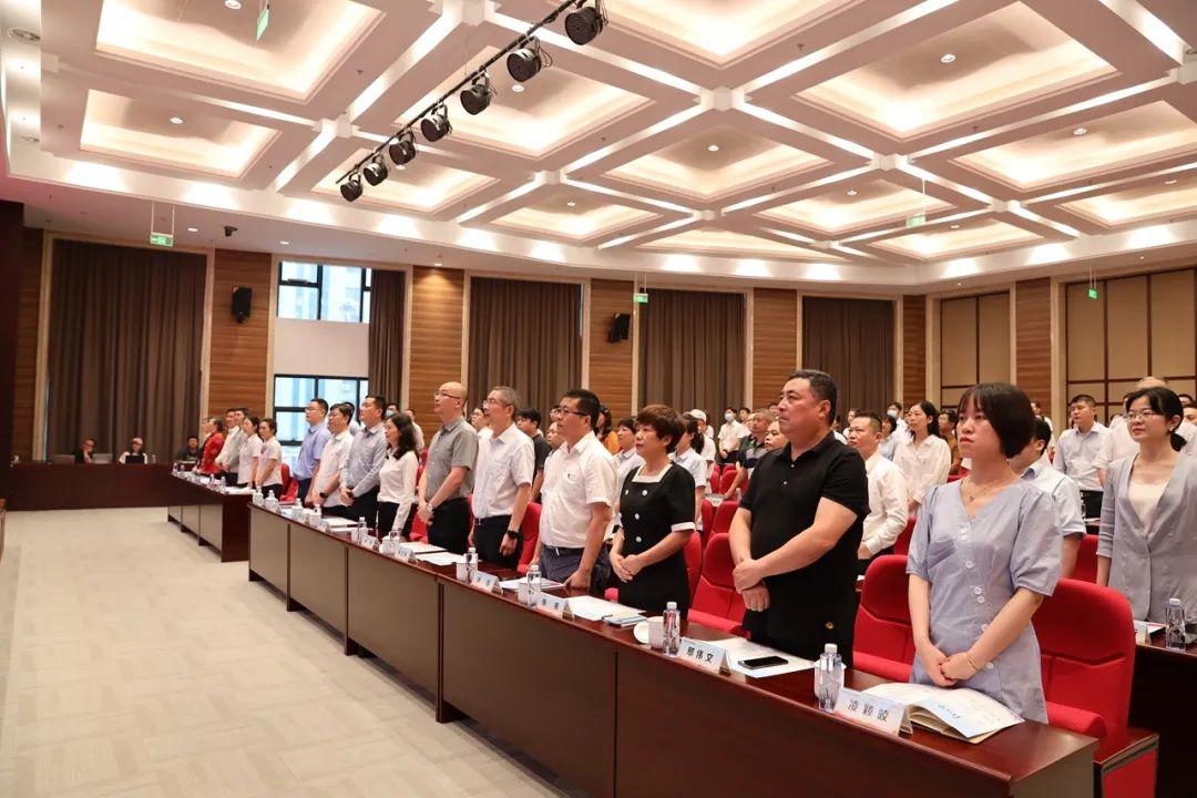 无锡银保监分局举办庆祝中国共产党成立100周年道德讲堂