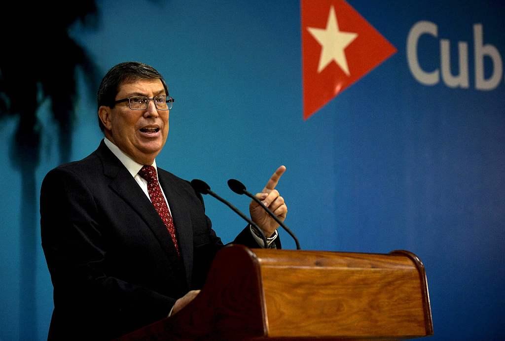 古巴外长指责美国操纵媒体歪曲事实:破坏古巴稳定