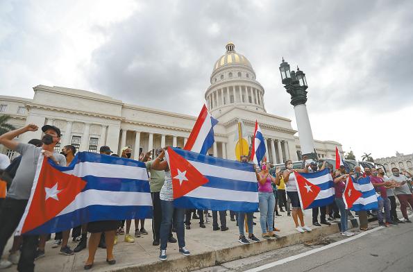"""古巴驻华大使馆披露美国""""颠覆行动""""内幕"""