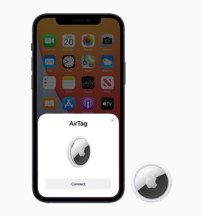 苹果推出全新颜色的 AirTag 皮革扣环和钥匙扣
