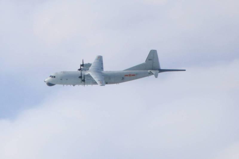 绿媒还在盯:解放军军机今晨进入台西南空域
