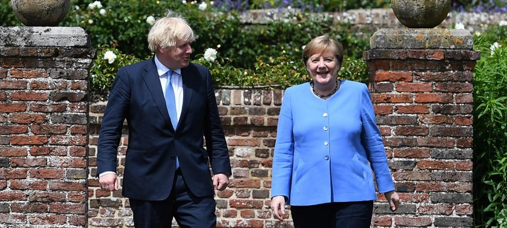 德国总理默克尔访英告别之旅 德英关系或掀新一页