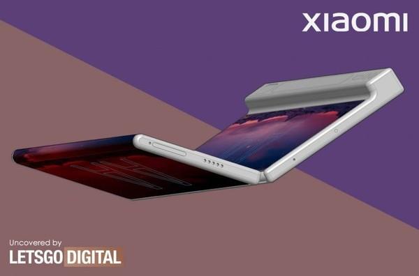 小米折叠屏手机专利公布:内折设计 屏幕延伸至侧面