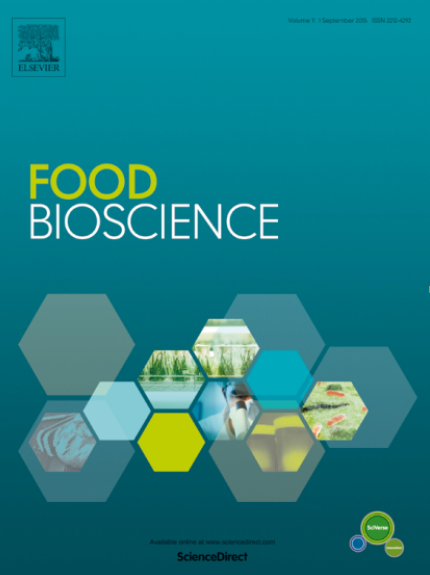 《Food Bioscience》最新影响因子4.240,实现发表体量与影响因子双增长