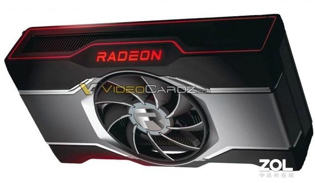 RX 6600 XT公版照片曝光 单风扇设计