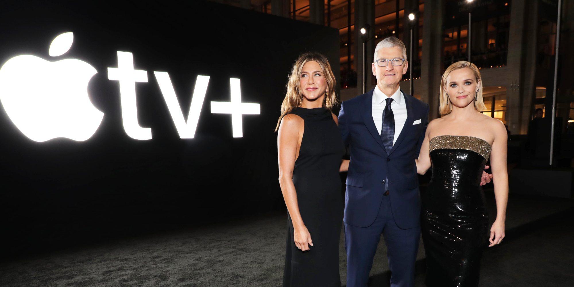 苹果考虑10亿美元收购女影星瑞茜·威瑟斯彭的媒体公司