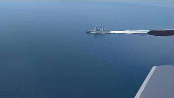 """英国称会再入""""乌克兰水域"""" 普京发言人:会采取措施"""