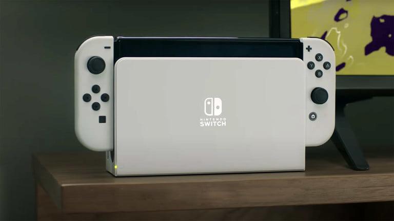 任天堂:Switch OLED款底座可单独购买,配备以太网接口